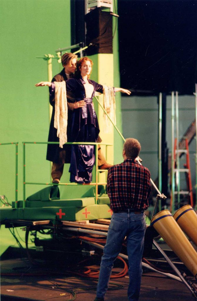 titanic movie set up