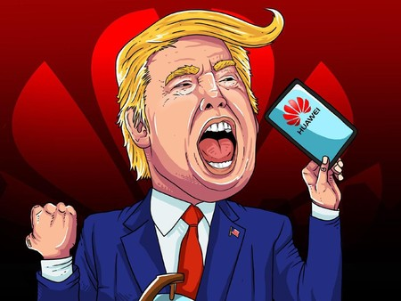 Donald Trump and Huawei